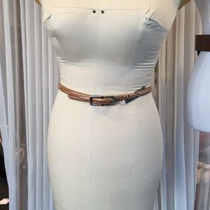 Lauren Ralph Lauren Skinny Reversible Belt NEW